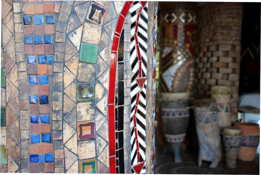 Interior Design African Colours Patterns Fabrics 8