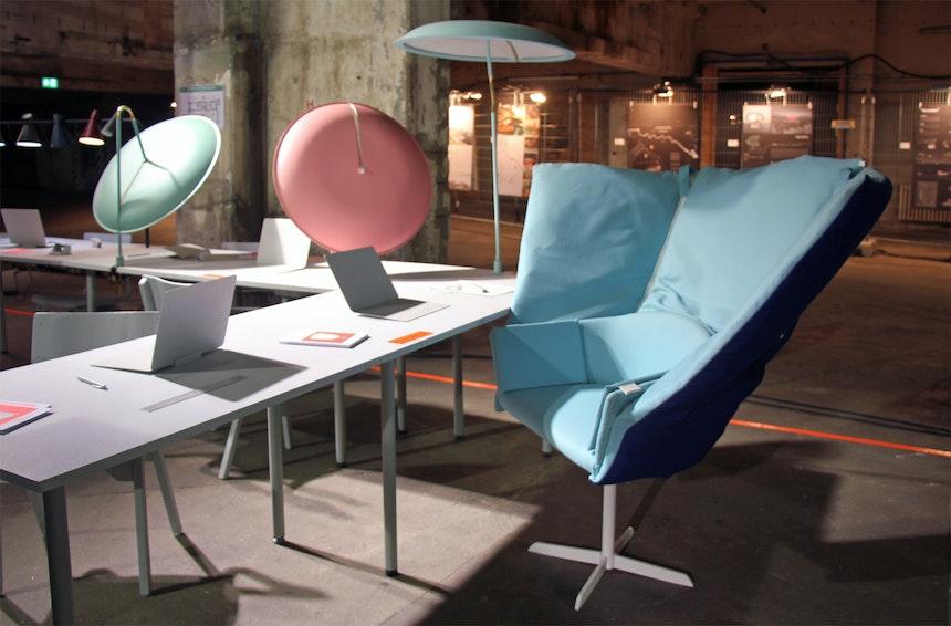 In Our Office, ein Zuhause für junge Kreative, Projekt der Lund University mit HAY
