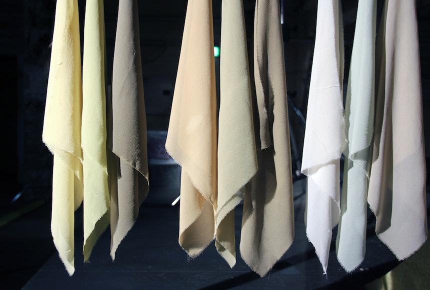 Tamed Dandelion – Serie von Tüchern