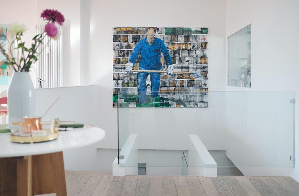 Artwork »Arbeiter«, Jörg Söchting