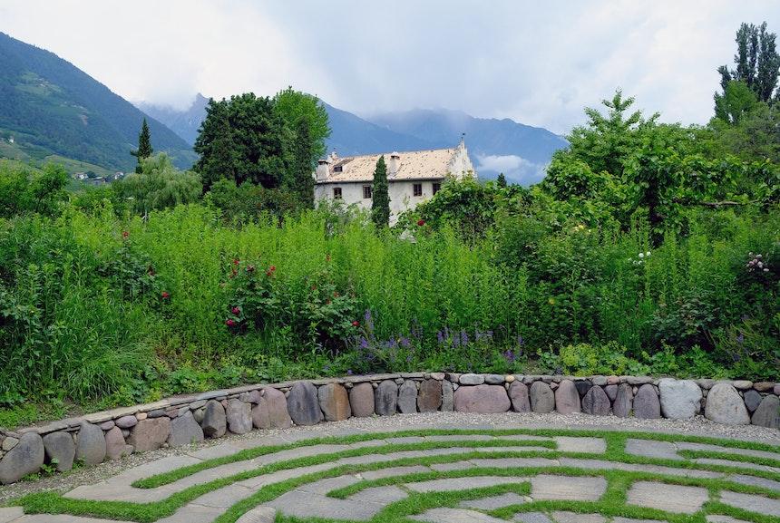 Labyrinth-Garten