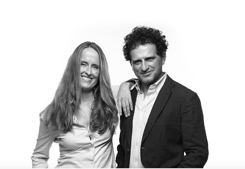 Das Designerduo Manuela Simonelli & Andrea Quaglio, Foto © Quaglio Simonelli, France