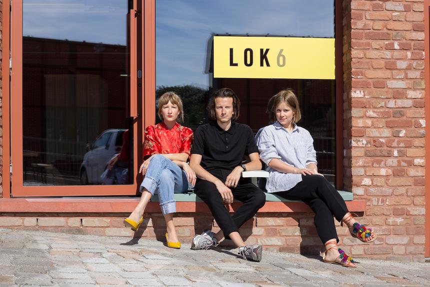 LOK6-Team, von links: Maria Wallenstein (Kommunikation), Tobias Wallenstein (Gründer) & Julia Heifer (Gründerin & Küchenchefin), Foto: Theresia Koch