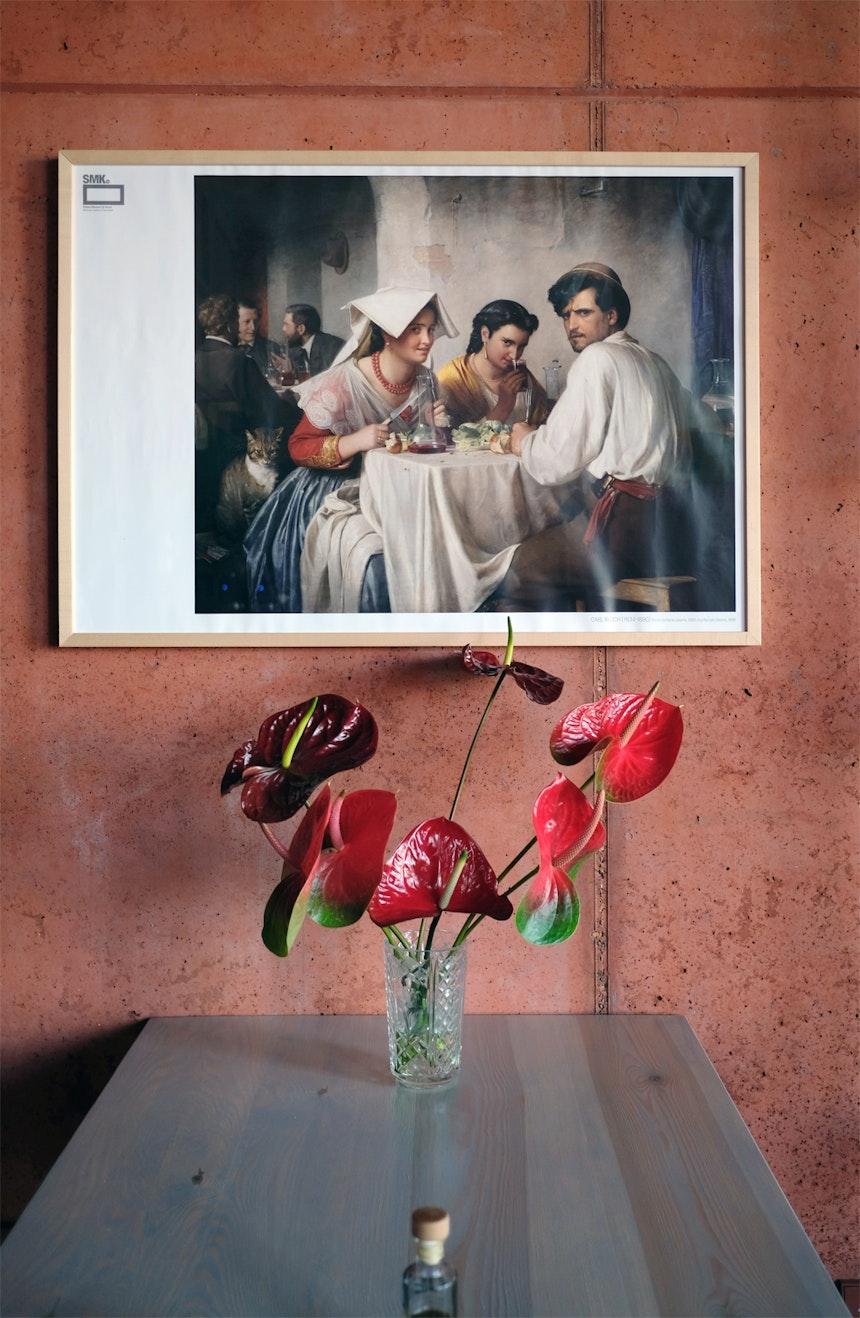 »In A Roman Osteria« – Carl Bloch