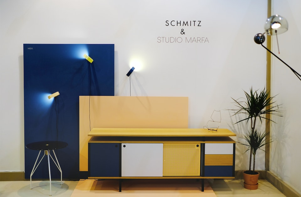 Messestand Schmitz & Studio Marfa, Salone Satellite, Mailand
