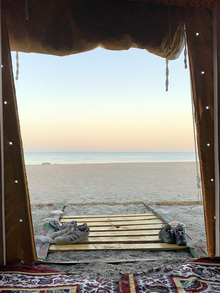 Masirah Sunset Camp Oman
