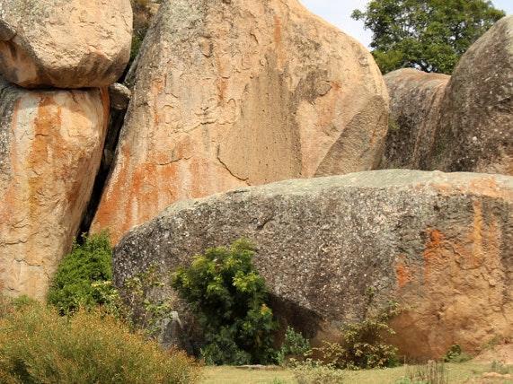 Muster Farben Formen Simbabwes Naturdesign 4