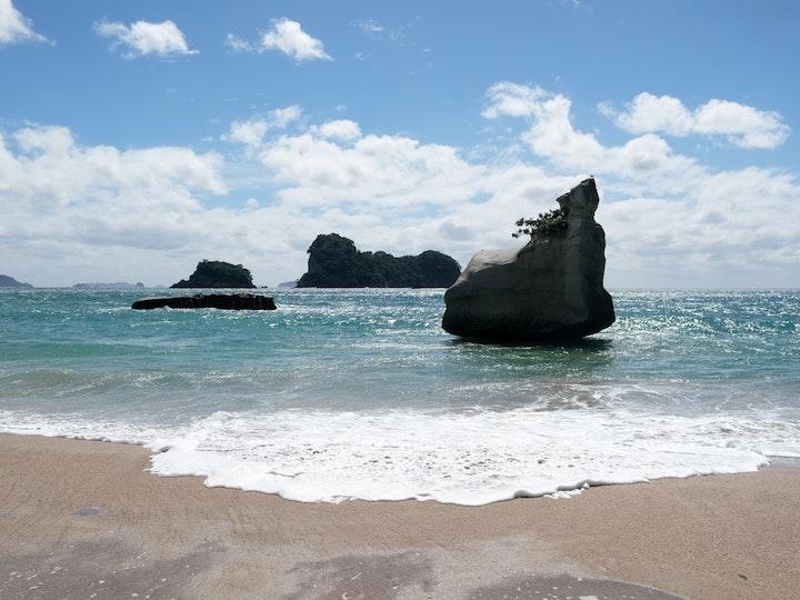 Neuseeland Nordinsel Cathedral Bay Coromandel 2