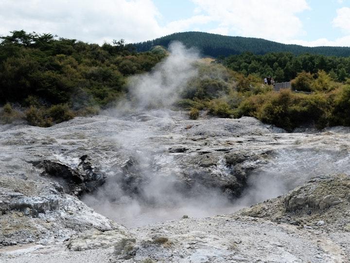Nordinsel Neuseeland Wai O Tapu Geothermal 5
