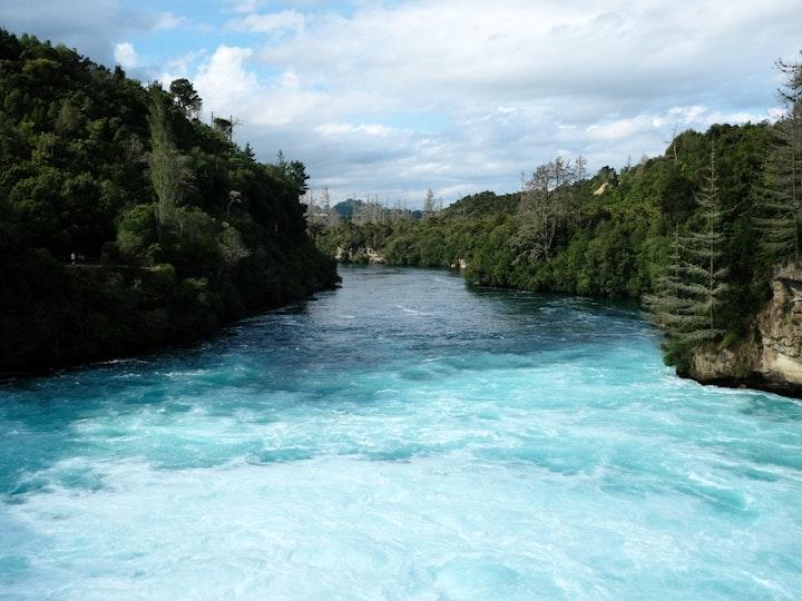 Nordinsel Neuseeland Huka Falls Taupo 2