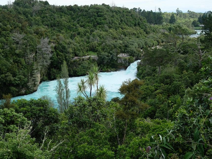 Nordinsel Neuseeland Huka Falls Taupo 3