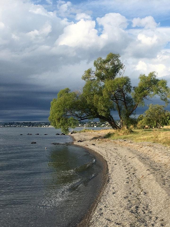 Nordinsel Neuseeland Lake Taupo 2