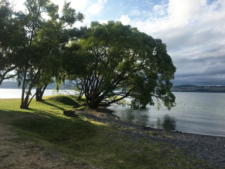 Ruhiger geht's dagegen am Lake Taupo zu