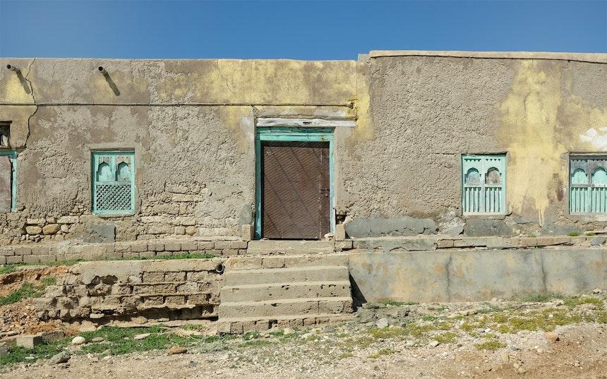 Verlassenes Haus in Mirbat