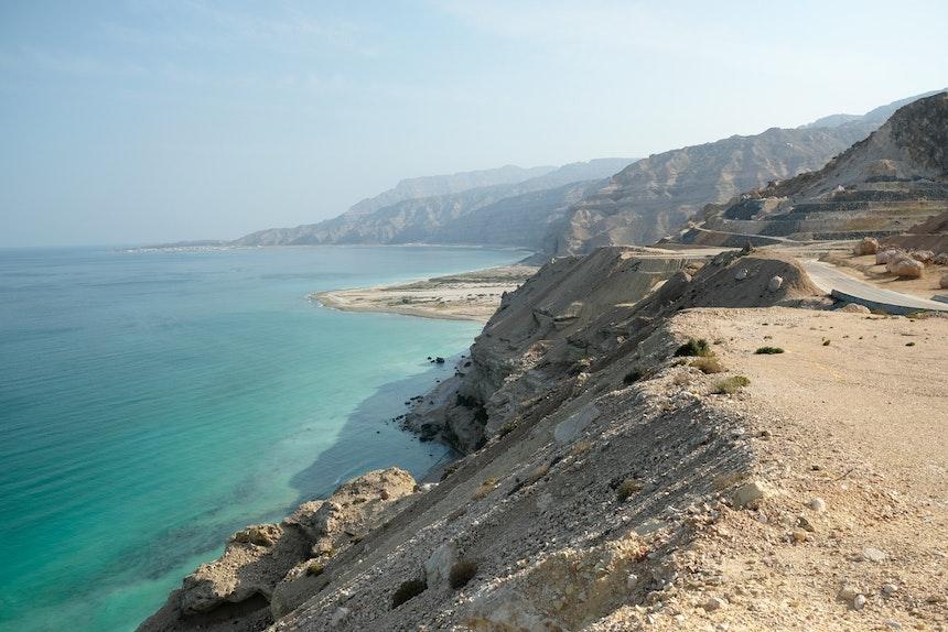 Coastal Road kurz vor Sadah und Mirbat
