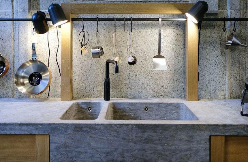 Der Entwurf dieser Küche stammt von Produktdesigner Johannes Kirsch