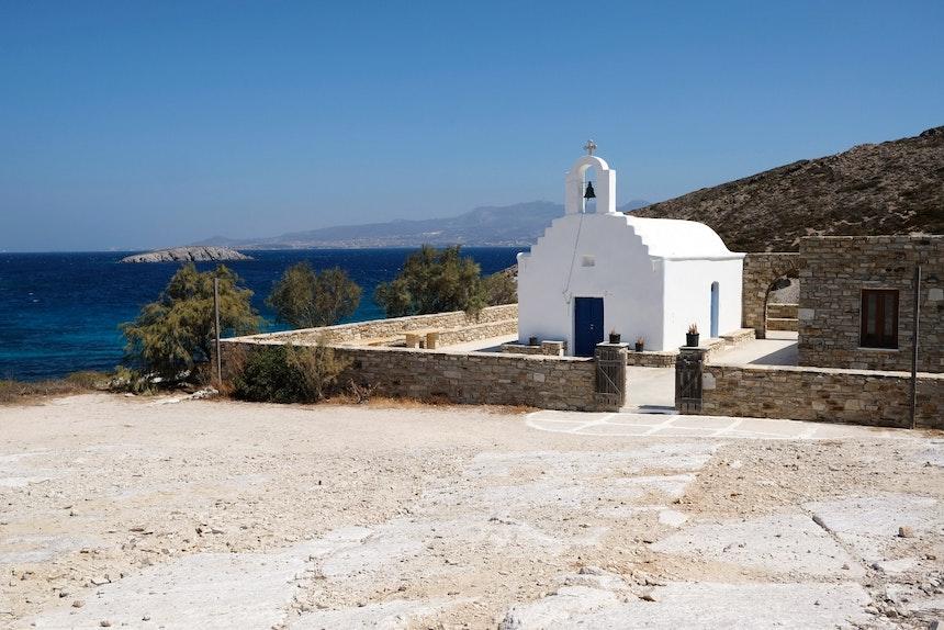 Kirche Panagia Faneromeni im Süden von Antiparos