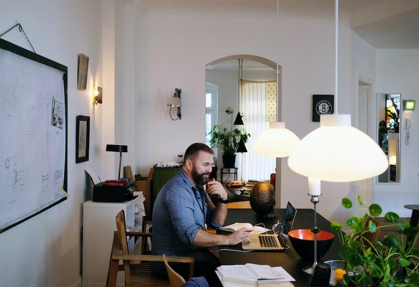 Arbeiten, Wohnen und wohltuende Sichtachsen