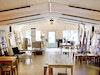 GEYERSBACH recycled furniture & temporäre Ausstellung der Lichtobjekte von Christian Hiemenz