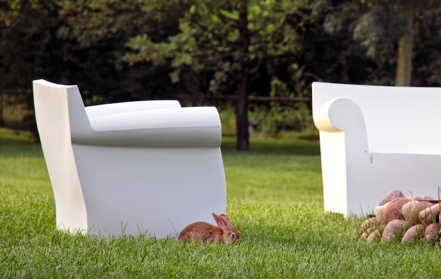 Bubble Club Sofas by Philippe Starck for Kartell