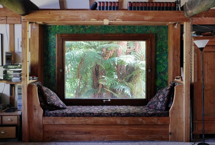 Familien-Lieblingsplatz: Windowseat mit Ausblick in die Ferntrees