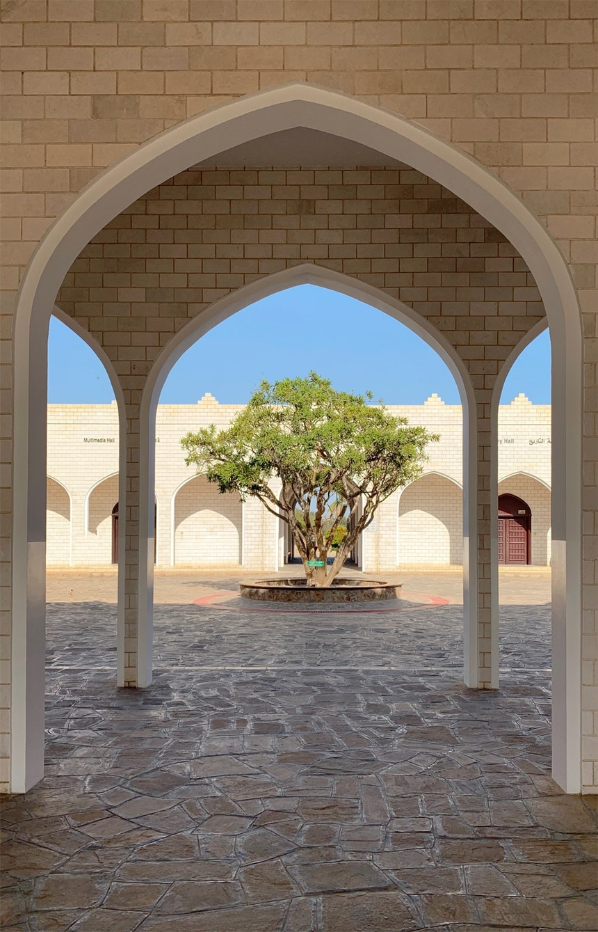 In unmittelbarer Nähe zum Al Baleed Resort Salalah befindet sich das »Museum des Weihrauchlandes«, das einen guten Einblick in die Geschichte des Omans vermittelt