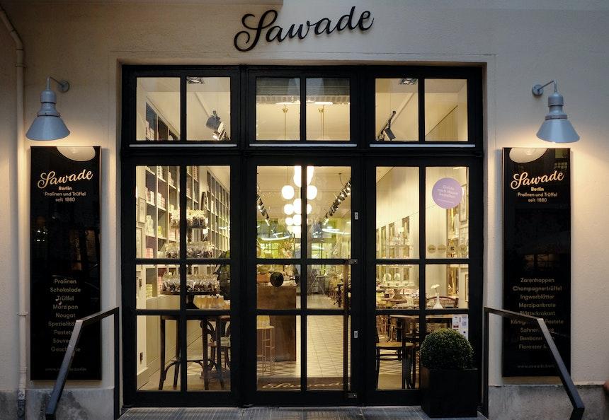 Sawade Flagship Store in den Hackeschen Höfen
