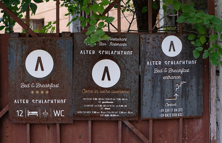 Alter Schlachthof Bed & Breakfast – Come in, we're awesome