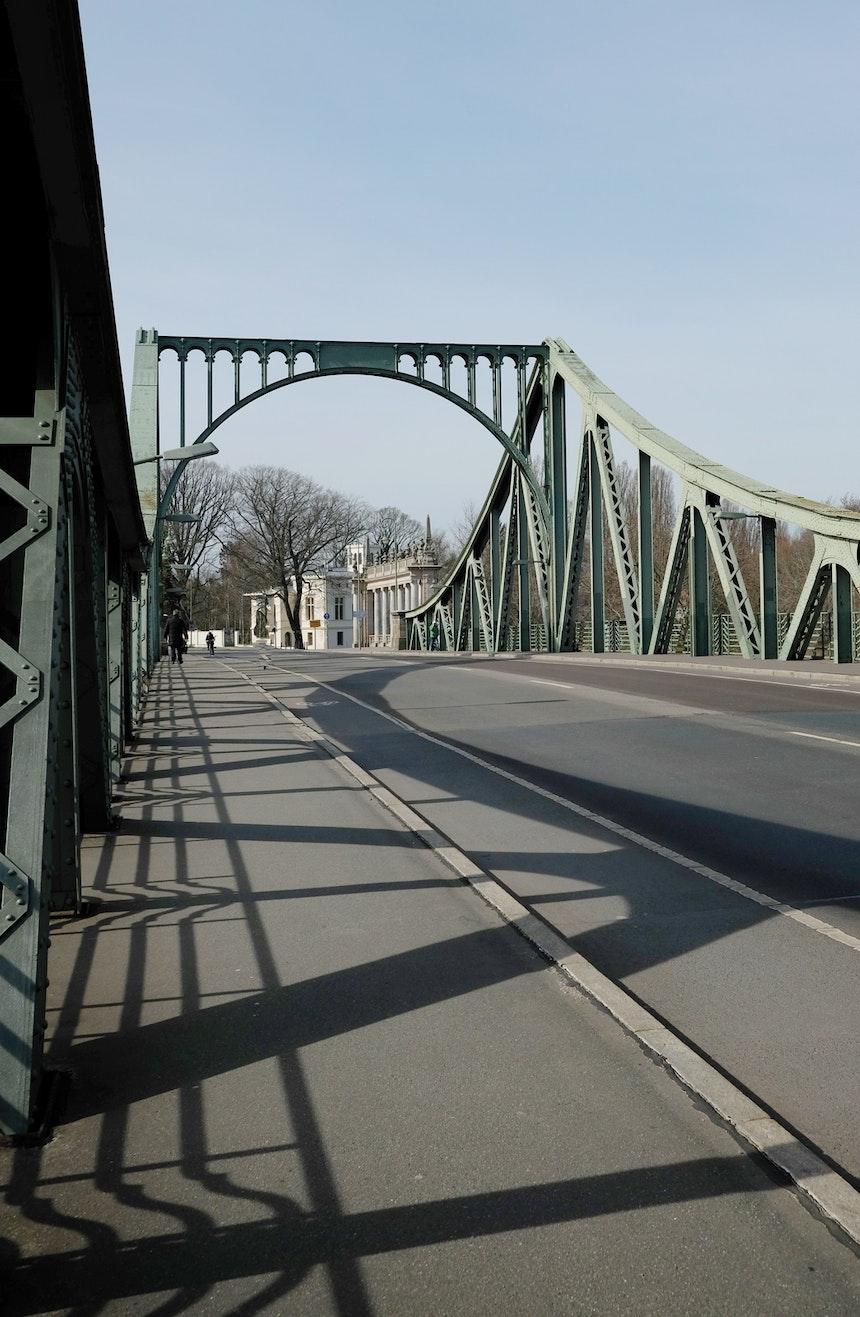 Glienicker Brücke nach Potsdam