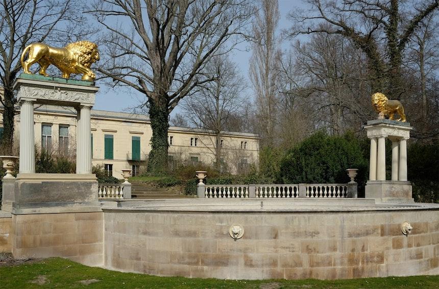 Löwenbrunnen, Park Glienicke