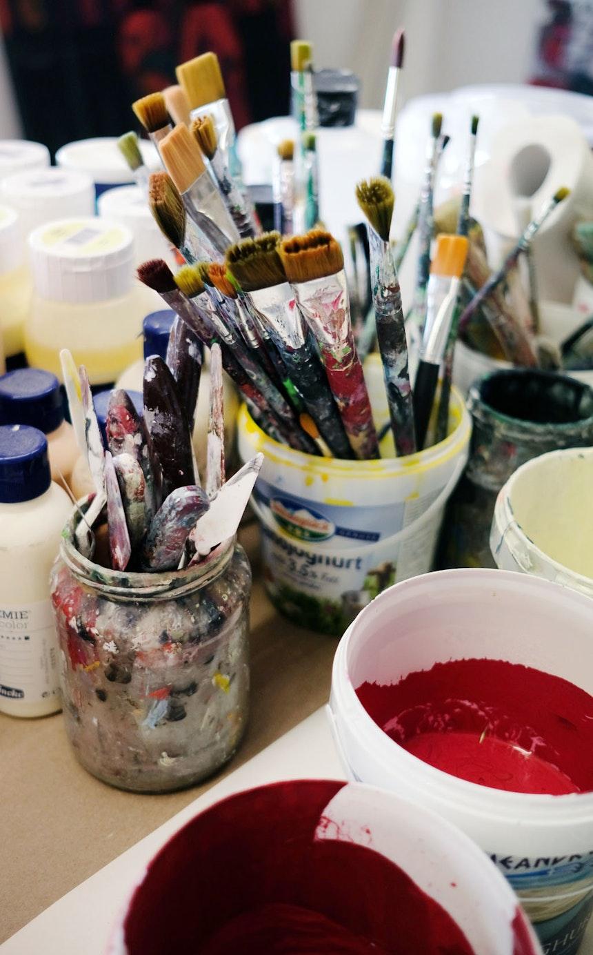 Künstlerwerkzeug