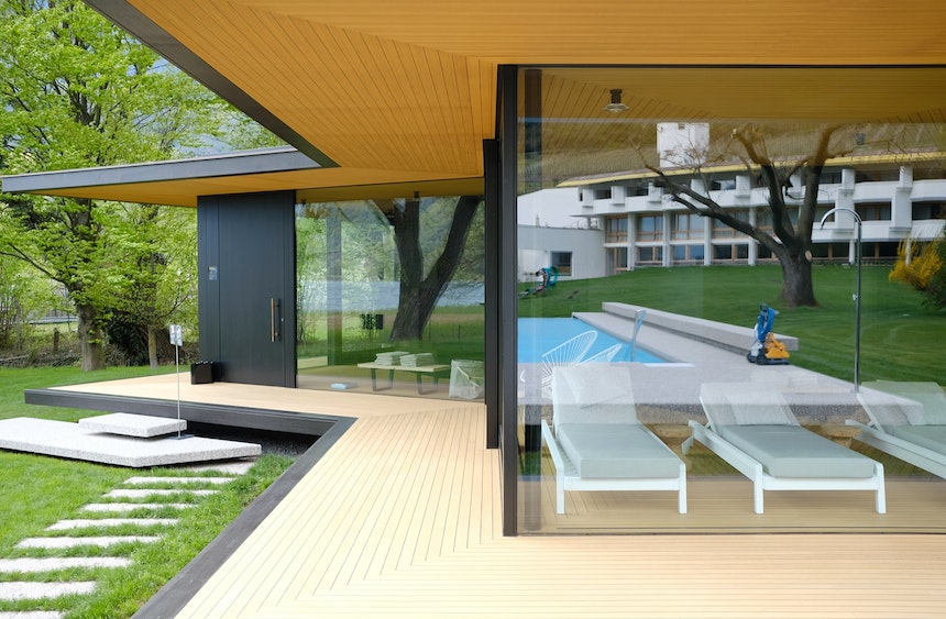 All in one – Architektur, Natur, Pool & Wellness