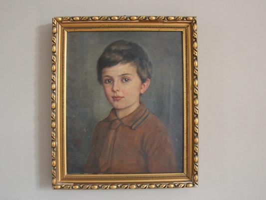 Portrait als zehnjähriger Junge