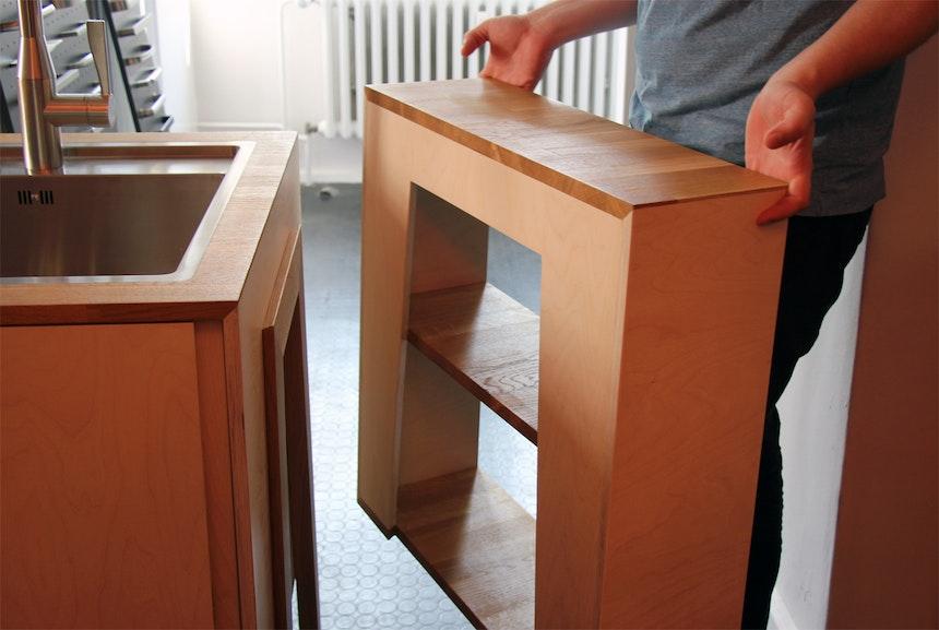 Modul-Küche Staccato, Bachelorarbeit von Johannes Kirsch