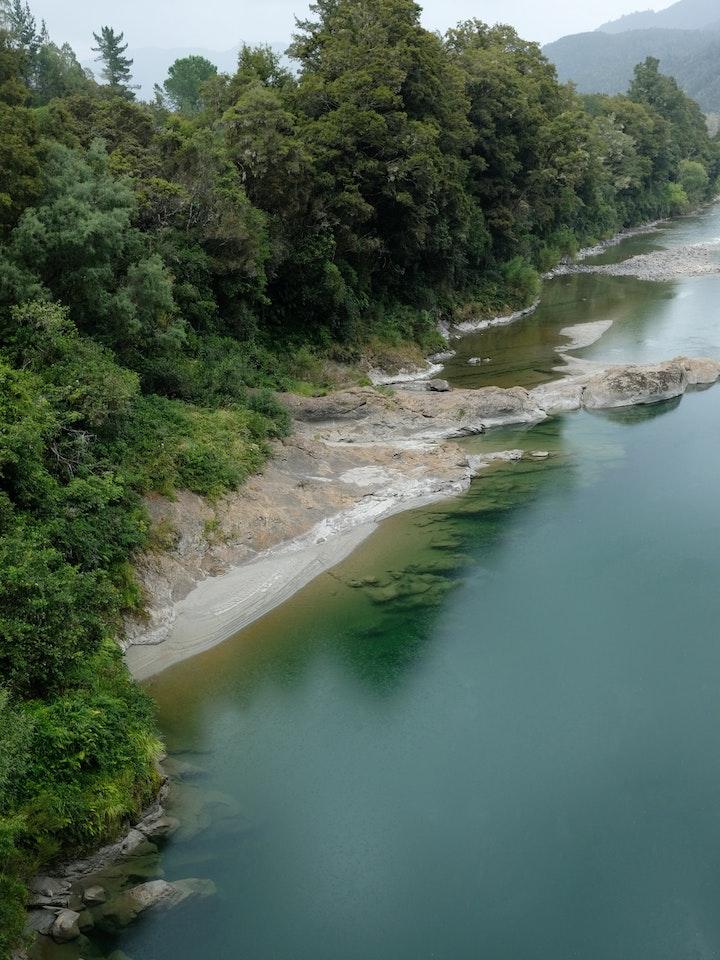 Suedinsel Neuseeland Fluss 2