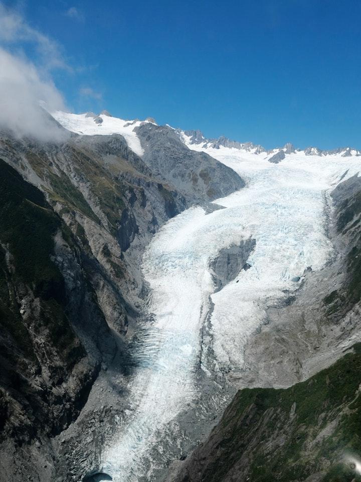 Suedinsel Neuseeland Franz Josef Glacier Helikopter 5