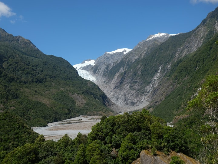 Suedinsel Neuseeland Franz Josef Glacier