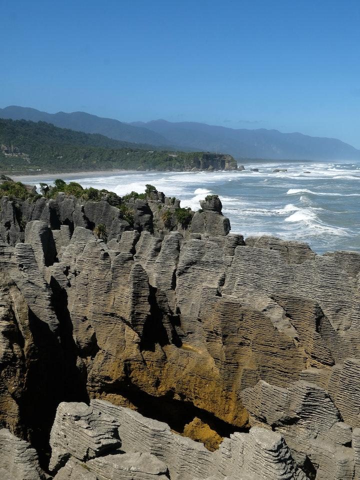 Suedinsel Neuseeland Pankake Rocks 4