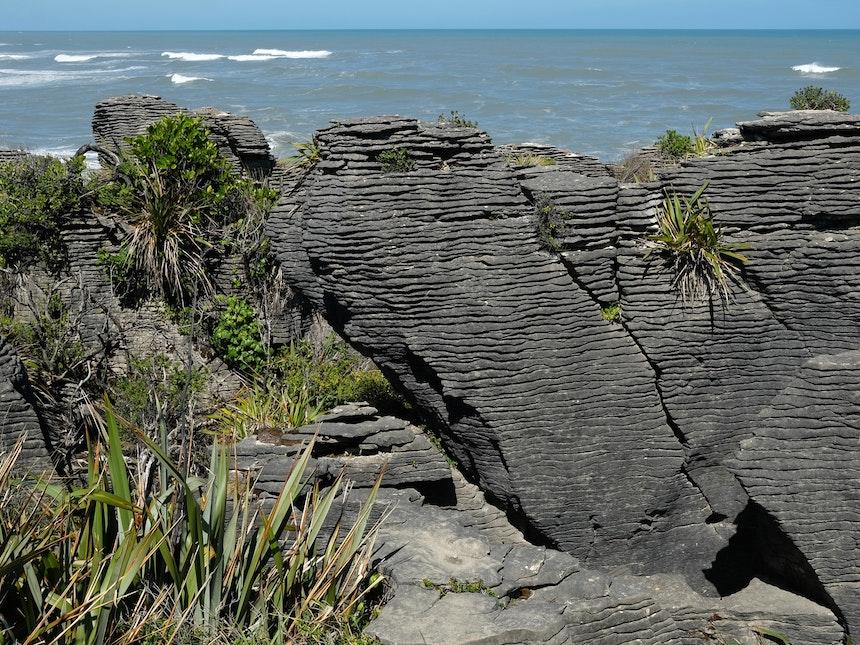 Suedinsel Neuseeland Pankake Rocks 7