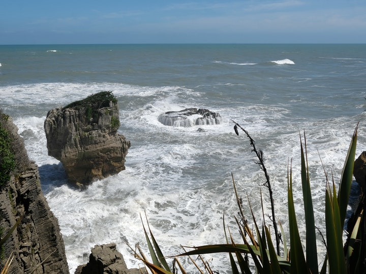 Suedinsel Neuseeland Pankake Rocks