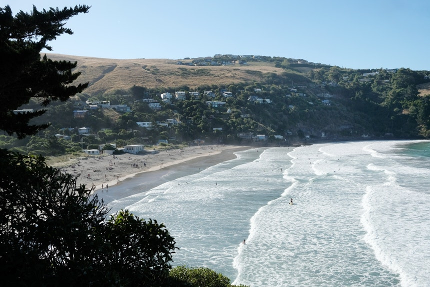 Bucht nahe Sumner, Christchurch – Taylor's Mistake