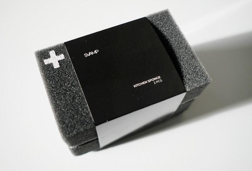 SVAMP Prototyp mit der ersten Banderole, die gerade relaunched wird