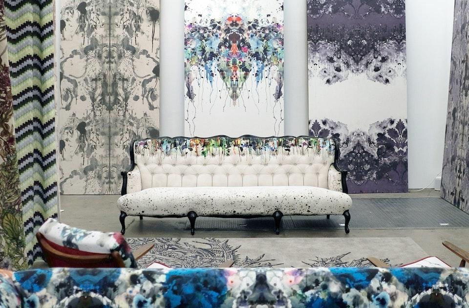 Tapeten- und Stoffdesign aus Glasgow im neuen Berliner Showroom von Timorous Beasties