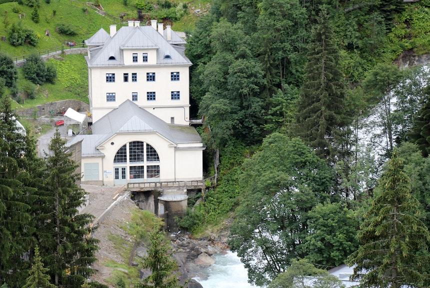 Das Wasserkraftwerk