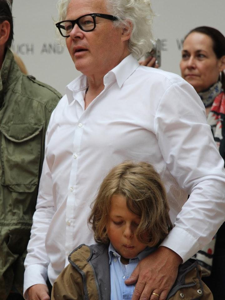 Ike Ikrath mit Sohn