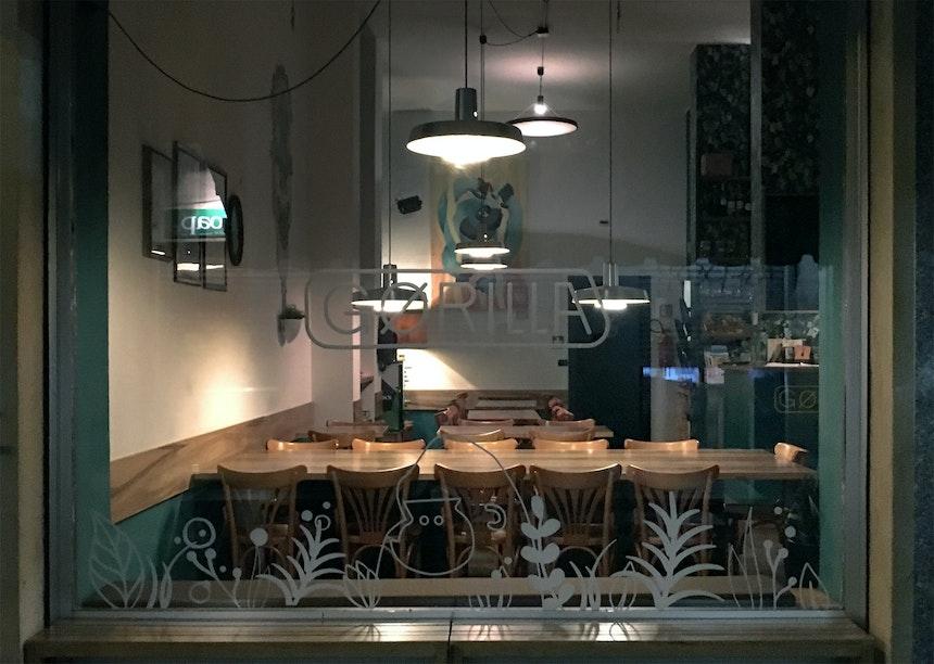 Gørilla, Bar & Restaurant, Via Bernardino Galliari 20/F, San Salvario
