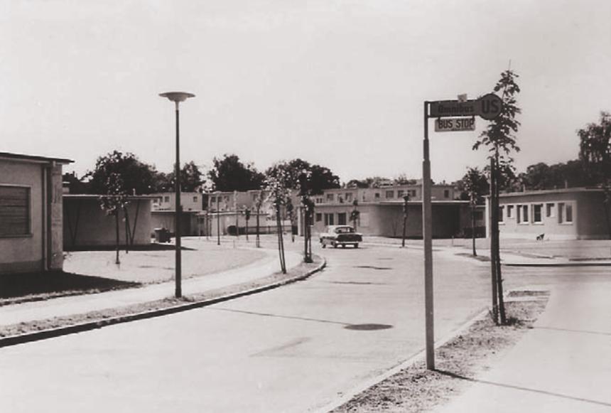 Historische Aufnahme, Quelle: Untere Denkmalschutzbehörde Steglitz-Zehlendorf, Landesdenkmalamt