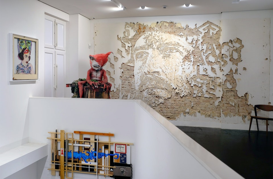 URBAN NATION MUSEUM, Artwork – JUDITH SUPINE, HERAKUT & VHILS