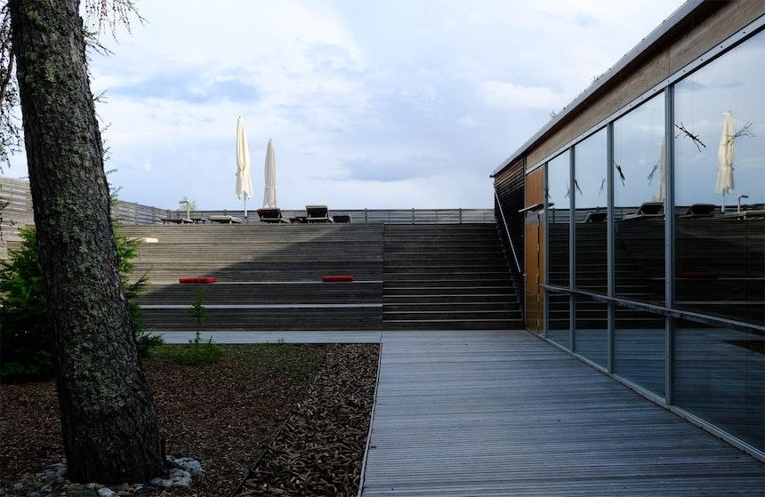 Paradiesgarten mit Panoramaterrasse