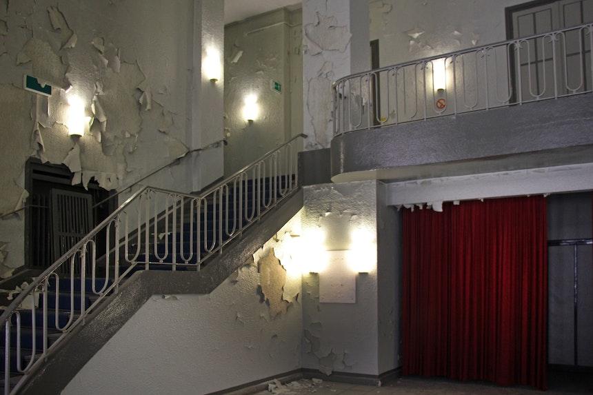Eingangsbereich Block II